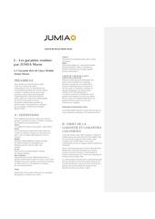 contrat de service jumia