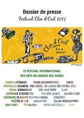 dossier de presse festival clin d oeil 2017