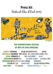 press kit festival clin d oeil 2017