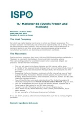 Fichier PDF tl marketer be dutch french and flemish