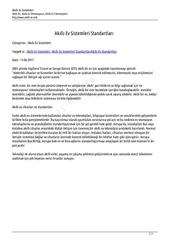 akilli ev sistemleri standartlari www akilli ev info