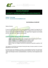 recrutement pdf