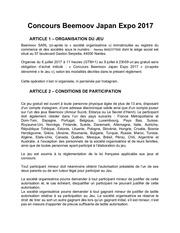 reglement concours instagram doc