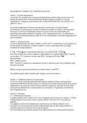 Fichier PDF reglement complet jeu fondant baulois vacances ete