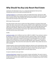 Fichier PDF why should you buy lely resort real estate