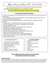Fichier PDF cm1 liste d effets