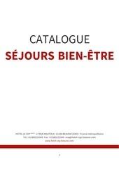 hotel le cep catalogue sejours bien etre french
