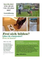 frei sich bilden luxembourg 6 7 10 2017