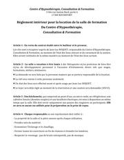 Fichier PDF reglement interieur location salle