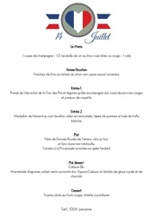 menu 14 juillet 2017