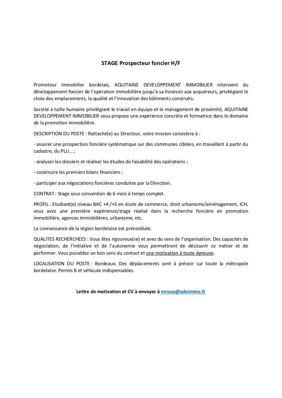 Recherche Pdf Rapport De Stage Foncia Q Rapport De Stage Foncia