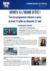 cp bfmtv programmes de l ete 2017