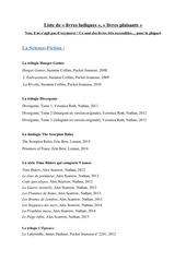 liste de livres ludiques pdf