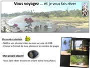 Fichier PDF flyer livres photos