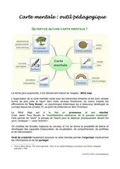 la carte mentale outil pedagogique