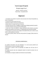 Fichier PDF reglement lob