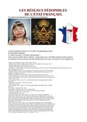 les reseaux pedophiles de l etat francais