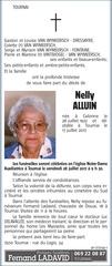 necrologie de madame nelly alluin 1