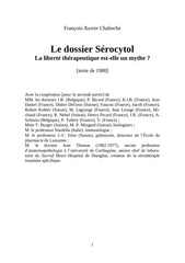 Fichier PDF le dossier serocytol premiere partie