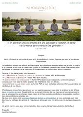 Fichier PDF mail kit meditation