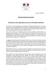 communique ministeriel report reglement arbitral