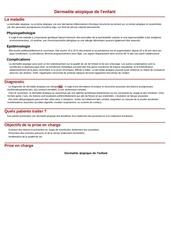 Fichier PDF dermatite atopique de l enfant