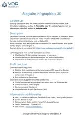 Fichier PDF vor immobilier stagiaire infographiste 3d fiche de poste