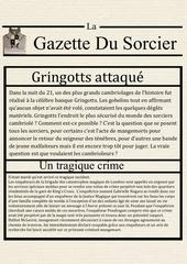 la gazette du sorcier 1
