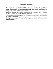 Fichier PDF paiement du camp 2017