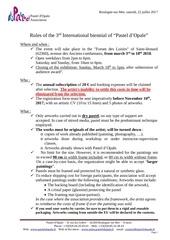 Fichier PDF rules po 2018