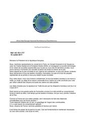 lettre aux leaders mondiaux president macron
