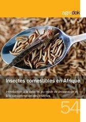 agrodok 54 insectes comestibles en afrique