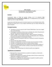 Fichier PDF offre d emploi coordination familles