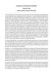 Fichier PDF r achab a propos de l autonomie de la kabylie