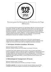 ytt 200 yoga alliance francais 1 pdf