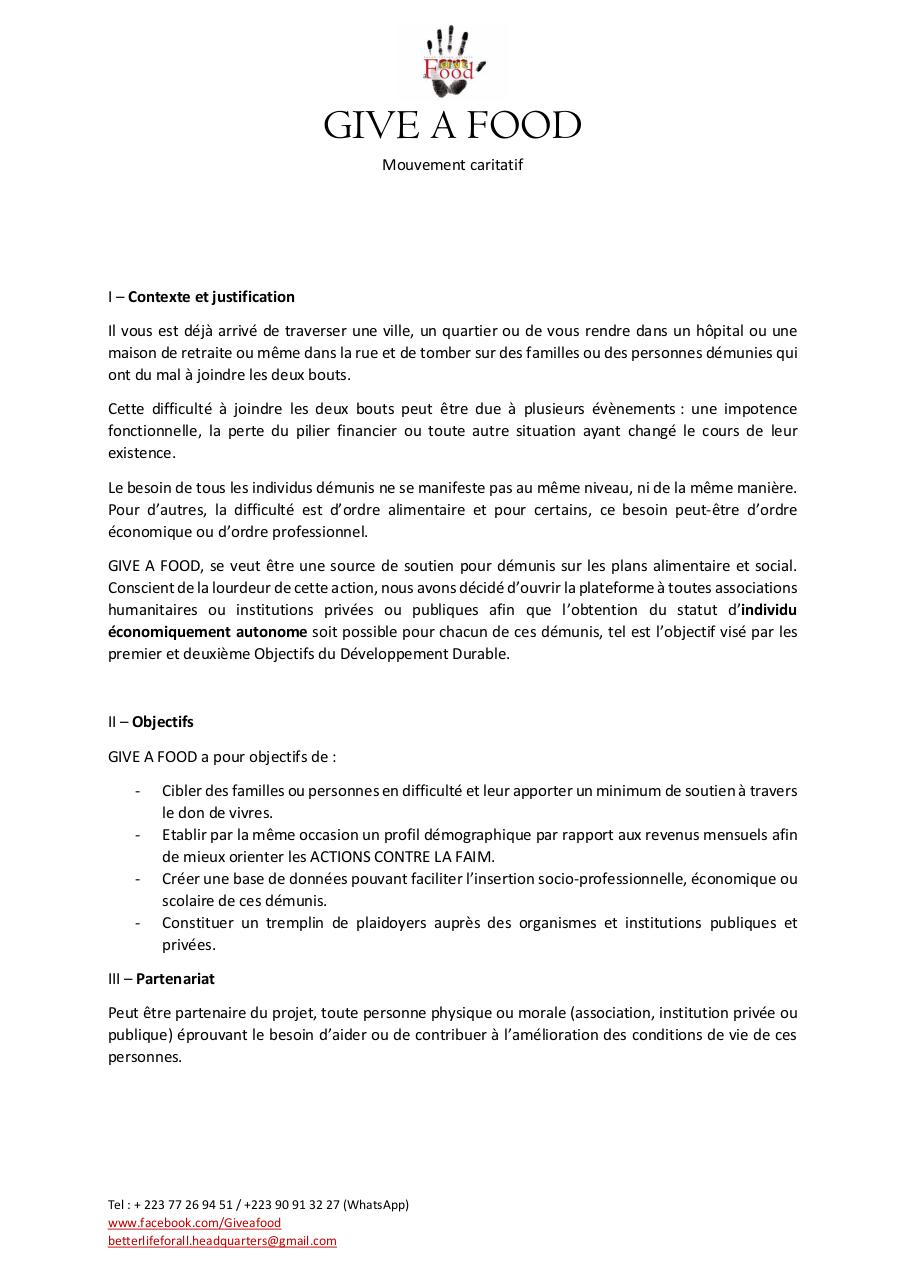 Aperçu du document GIVE A FOOD - Appel.pdf - page 1/3