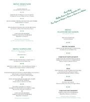 carte restaurant l oasis fr