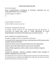 Fichier PDF contrat location salle