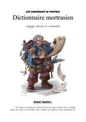 dictionnaire mortrasien