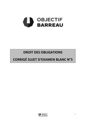 Fichier PDF droit des obligations coriges seminaires de correction n3