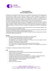 recrutement direction atelline