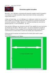 Fichier PDF tornado