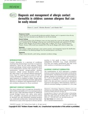 Fichier PDF allergic contact dermatitis