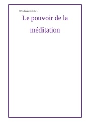 le pouvoir de la meditation html 1