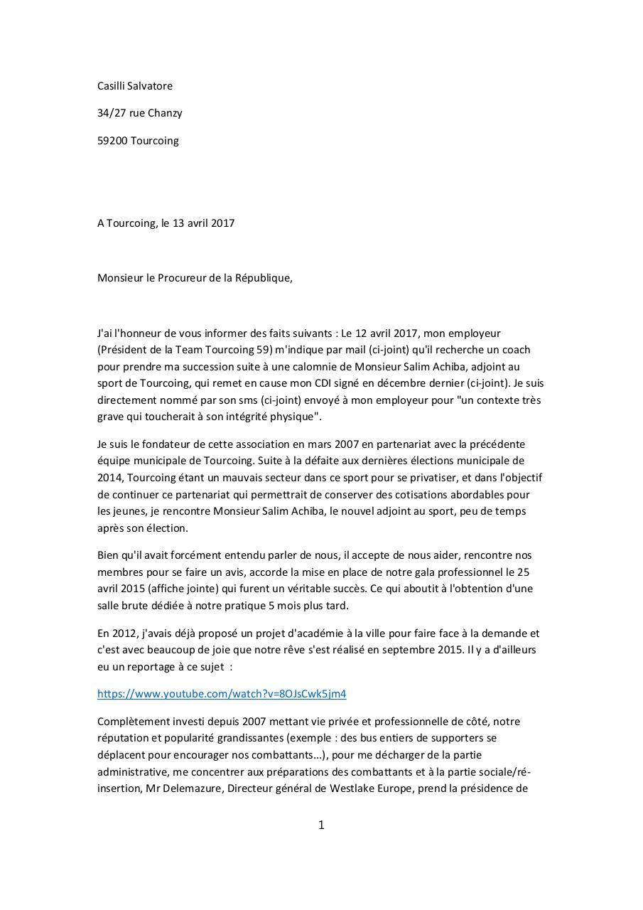 lettre de demande de partenariat pour association