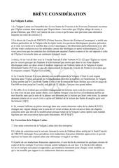 breve consideration la vulgate latine 29 07 2017