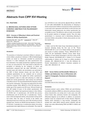 abstracts from cipp xvi meeting libon june 2017