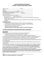 Fichier PDF bulletin d inscription vide grenier