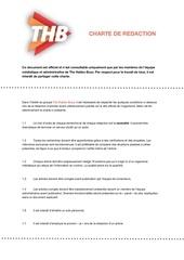 charte de redaction