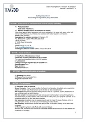 safety data sheet techstrong